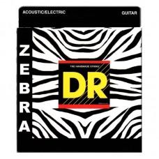 قیمت خرید فروش سیم گیتار آکوستیک DR Zebra Acoustic-Electric 11-50