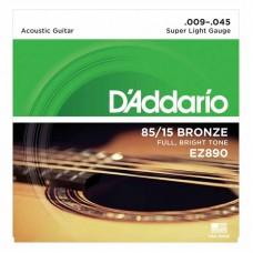 قیمت خرید فروش سیم گیتار آکوستیک Daddario EZ890 Bronze