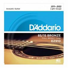 قیمت خرید فروش سیم گیتار آکوستیک Daddario EZ910 Bronze