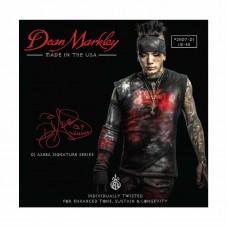 قیمت خرید فروش سیم گیتار الکتریک  Dean Markley DJ Ashba 2507 DJ 10-48