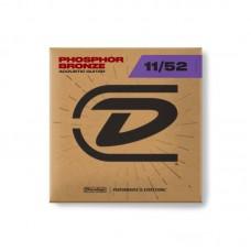 قیمت خرید فروش سیم گیتار آکوستیک Dunlop Phosphor Bronze 11-52
