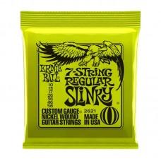 قیمت خرید فروش سیم گیتار الکتریک   Ernie Ball 2621 7-string Regular Slinky