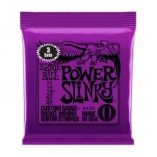 قیمت خرید فروش سیم گیتار الکتریک   Ernie Ball Power Slinky 11-48 3Sets