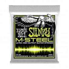 قیمت خرید فروش سیم گیتار الکتریک   Ernie Ball Slinky M-Steel 10-46