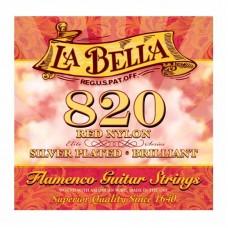 قیمت خرید فروش سیم گیتار کلاسیک LaBella 820 Red Nylon