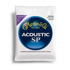 قیمت خرید فروش سیم گیتار آکوستیک Martin MSP4050 11-52