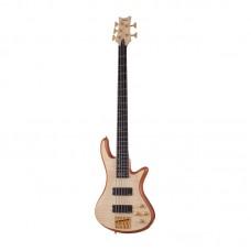 قیمت خرید فروش گیتار باس Schecter Stiletto Custom 5 Natural Satin