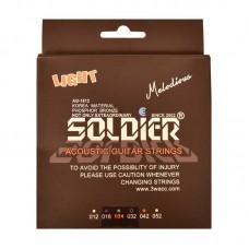 قیمت خرید فروش سیم گیتار الکتریک   Soldier Light 12-52