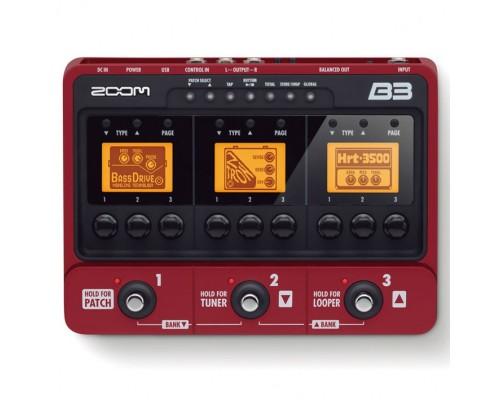 قیمت خرید فروش افکت گیتار باس ZOOM B3