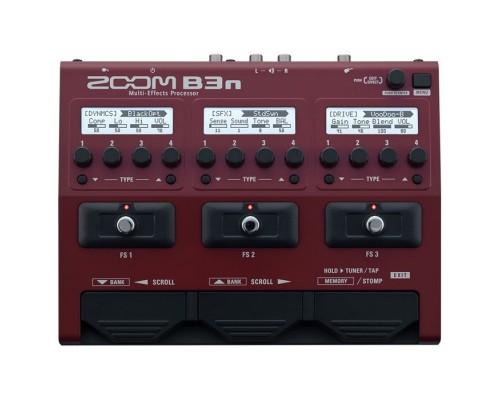 قیمت خرید فروش افکت گیتار باس Zoom B3n